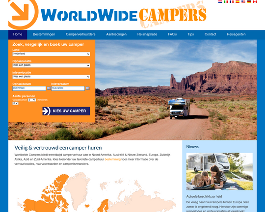 WorldWideCampers Logo